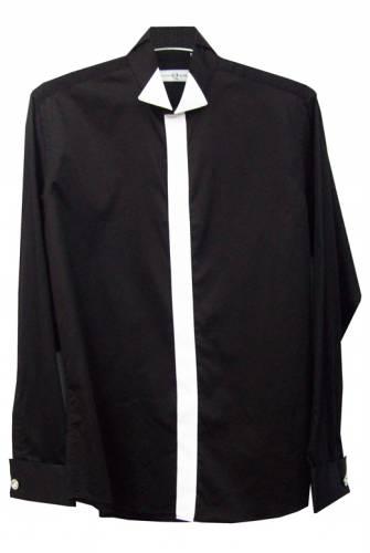 Женская черная рубашка